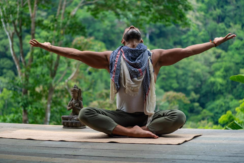 Nydelig yoga workshop med Amir Jaan på Lotussenteret i Stavern/ Larvik