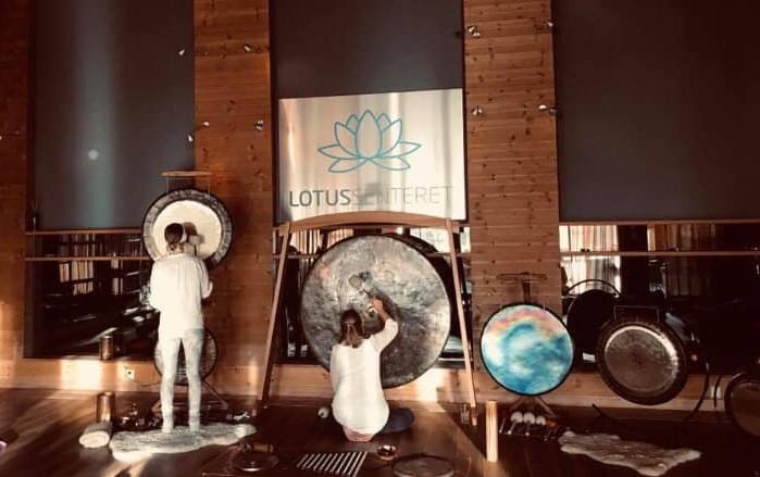 Fullmåne Gongbad søndag 29.november 2020 kl 17:00 og 18:30 på Lotussenteret i Stavern/ Larvik