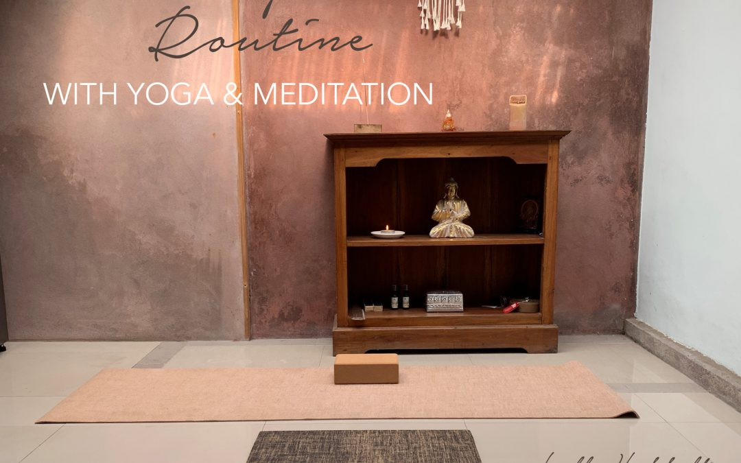 Creating a Morning Routine with Yoga&Meditation together with Lulla by Lotussenteret, Stavern/ Larvik